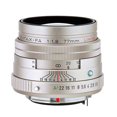 Объектив SMC Pentax FA 77mm f/1.8 Limited silver
