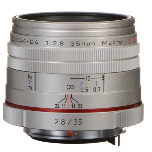 Объектив HD Pentax DA 35mm maсro Limited Silver